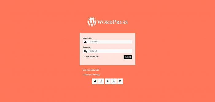 Plugins for login Page of Your Website