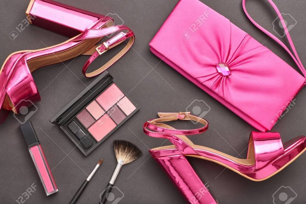 makeup and fashion accessories