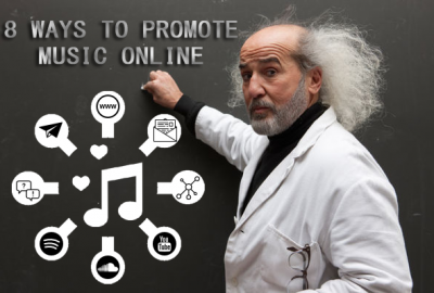 8 Ways to Broadcast and Promote Music Online
