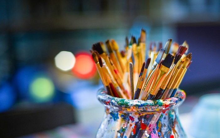 The Eight Types of Artist Paintbrushes
