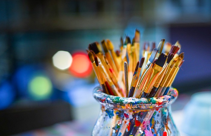 Types of Artist Paintbrushes