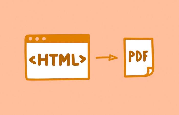 HTML to PDF