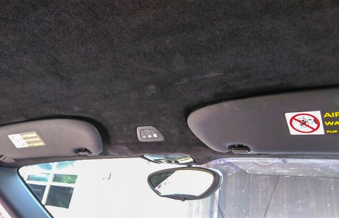 Restoration of Interior Car Roof